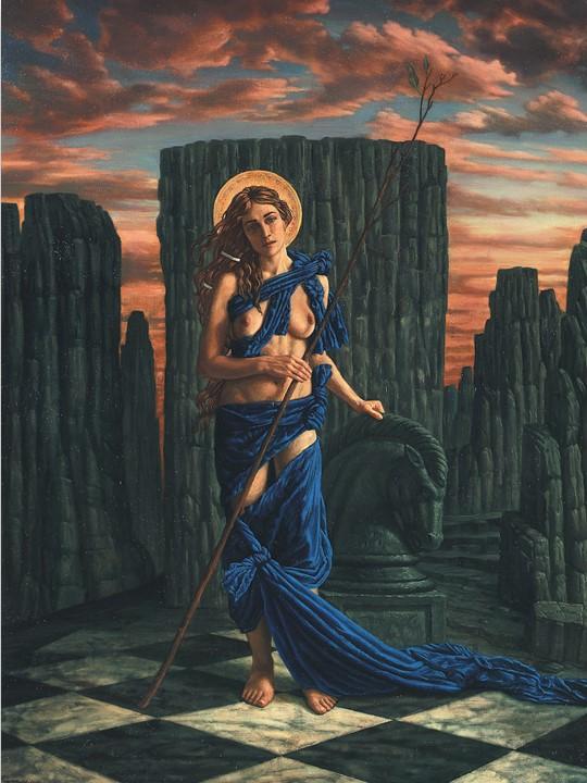 Jake Baddeley - Hope - oil on canvas - 110 x 70 cm - 1998 - SOLD