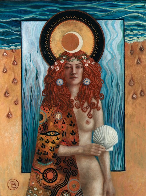 Jake Baddeley - Venus - oil on canvas - 90 x 70 cm - 1999 - SOLD