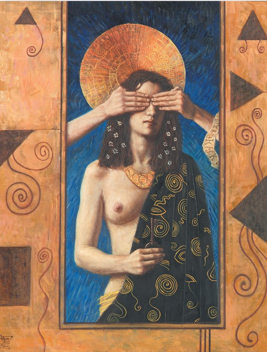 Jake Baddeley - Inner Sense - oil on canvas - 90 x 70 cm - 2000 - SOLD