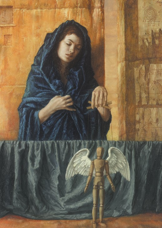 Jake Baddeley - Fate - oil on canvas - 90 x 70 cm - 2001 - SOLD