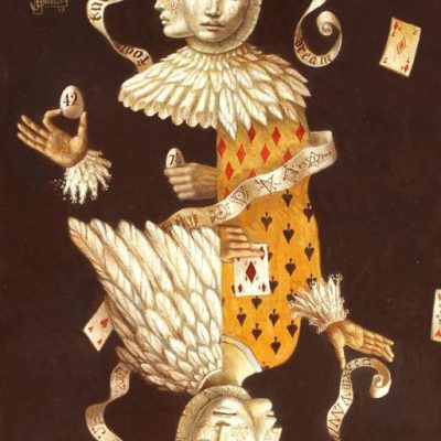 Jake Baddeley - Fools know what the Wise Dream - oil on wood panel - 45 x 30 cm - 2007