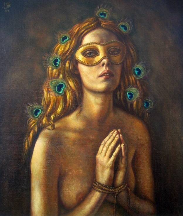 Jake Baddeley - Perspehone - oil on canvas - 70 x 50 cm - 2007 - SOLD