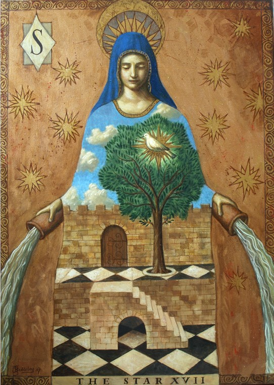 Jake Baddeley - The Star - oil on canvas- 50 x 70 cm - 2007