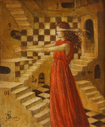 Sleepwalking - oil on wood panel - 2008 - SOLD