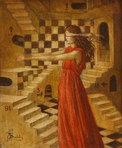 Sleepwalking - oil on wood panel - 2008 - SOLD