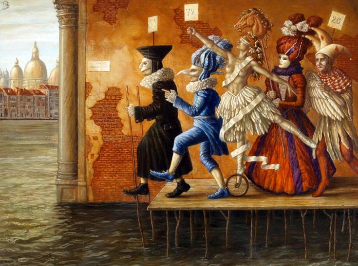 Via Dellea Aqua - oil on canvas - 80 x 60 cm - 2008 - SOLD