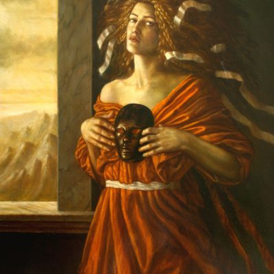 Jake Baddeley - Revelations - oil on canvas - 90 x 70 cm - 2009 - SOLD