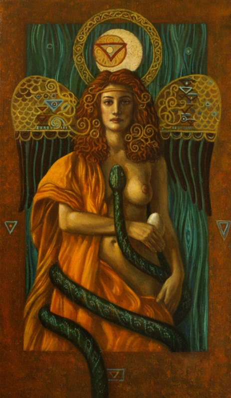Jake Baddeley - Venus Serpentis - oil on canvas - 50 x 80 cm - 2009 - SOLD