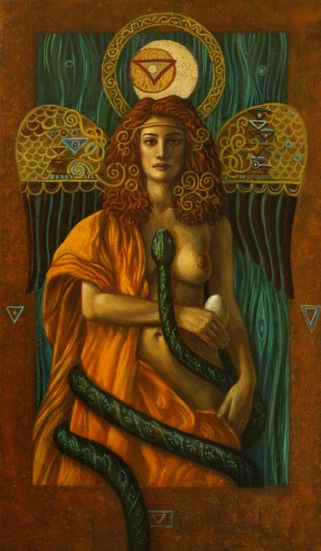 Venus Serpentis - oil on canvas - 50 x 30 cm - 2009 - SOLD