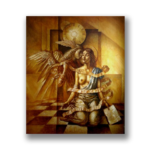 Annunciation - oil paint on canvas - 200 x 150 cm - 2010 - request availability