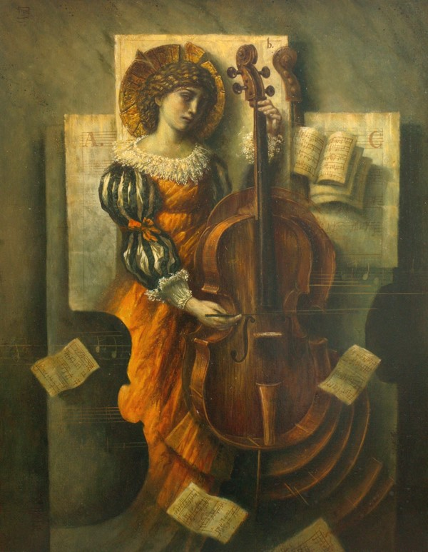 Music - 90 x 70 cm - oil on canvas - 2010 - SOLD