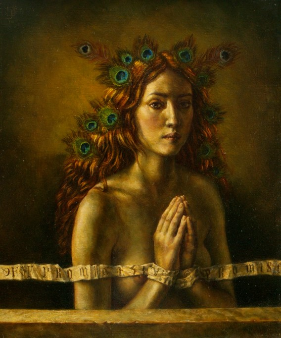 Persephone - 80 x 60 cm - oil on canvas - 2010 - SOLD
