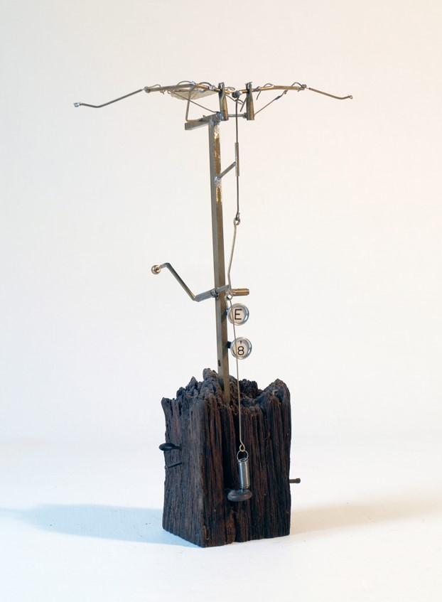 Avenis Machina Falsus - Mixed Media Sculpture - 2012