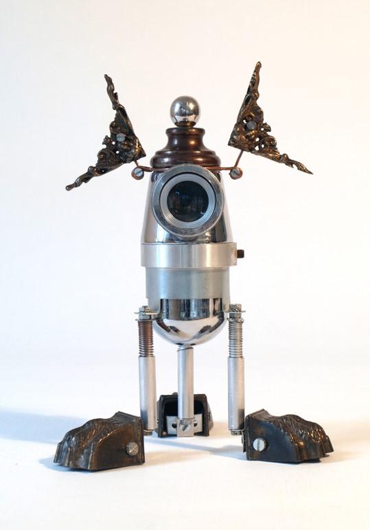 Oculus Considerandam - Mixed Media Sculpture - 2012