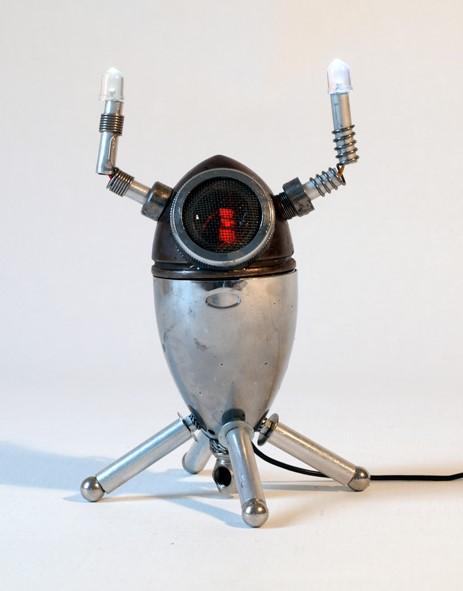 Oculus Lucis Automatos - Mixed Media Sculpture - 2012