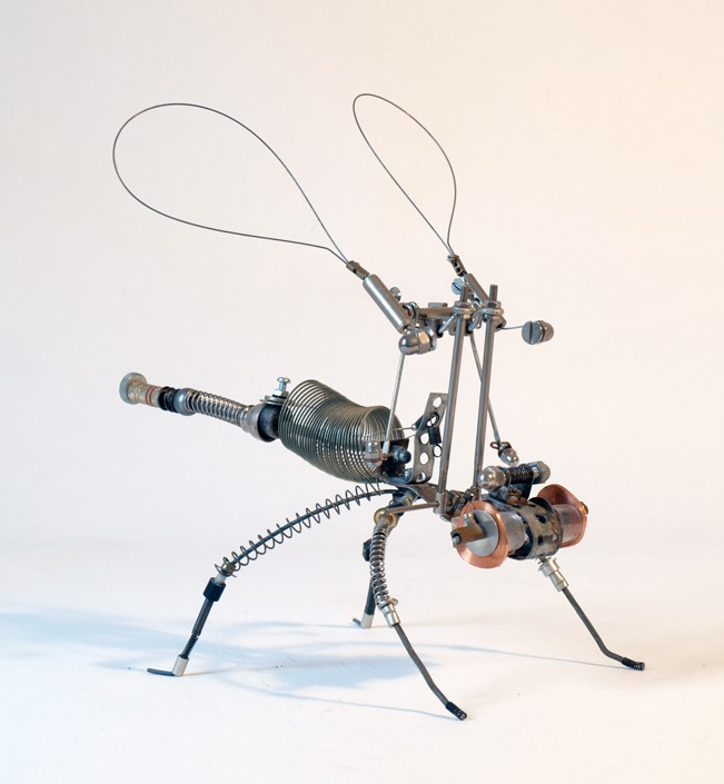 Volatus Contemplatio - Mixed Media Sculpture - 2012