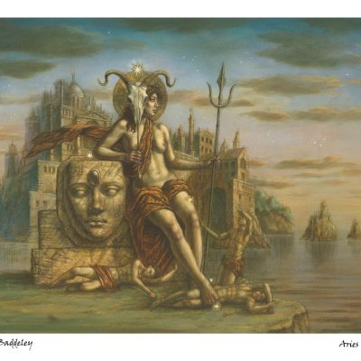 Jake Baddeley - Aries - limited edition giclee art print