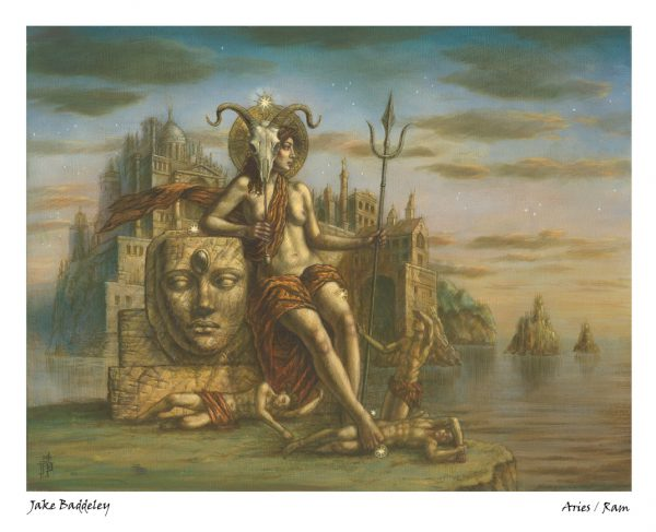 Jake Baddeley - Aries - limited edition giclee art print
