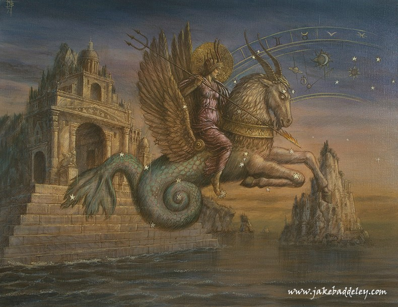 Capricorn  - oil on canvas - 90 x 70 cm - 2014 - available