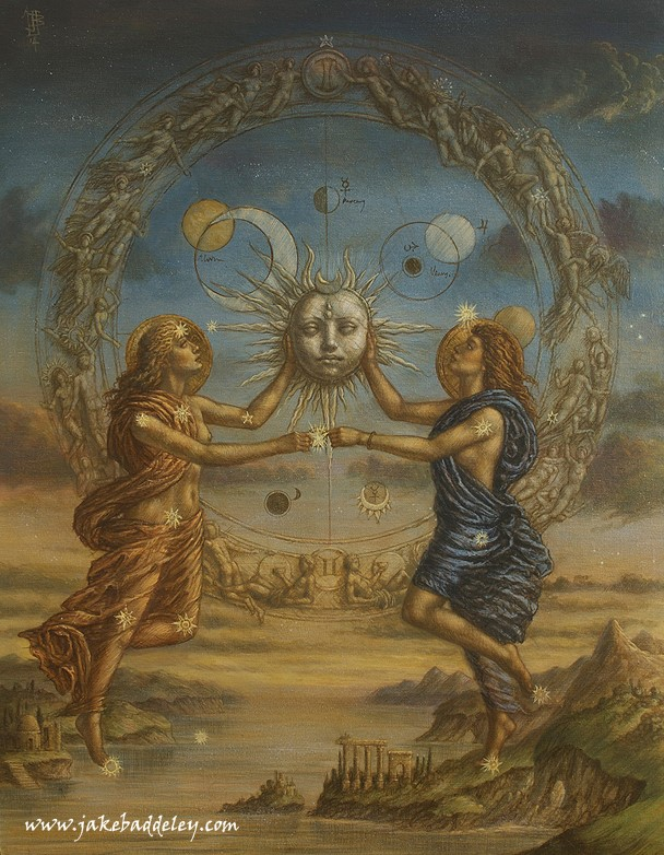 Gemini - oil on canvas - 90 x 70 cm - 2014 - available