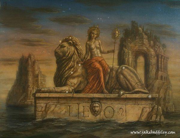 Jake Baddeley - Leo - 90 x 70 cm - oil on canvas - 2014