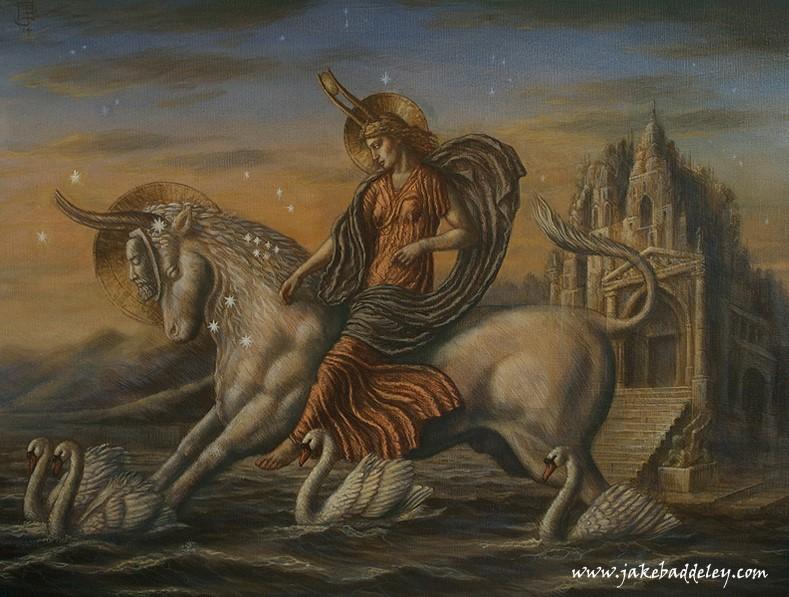 Taurus - oil on canvas - 90 x 70 cm - 2014 - available