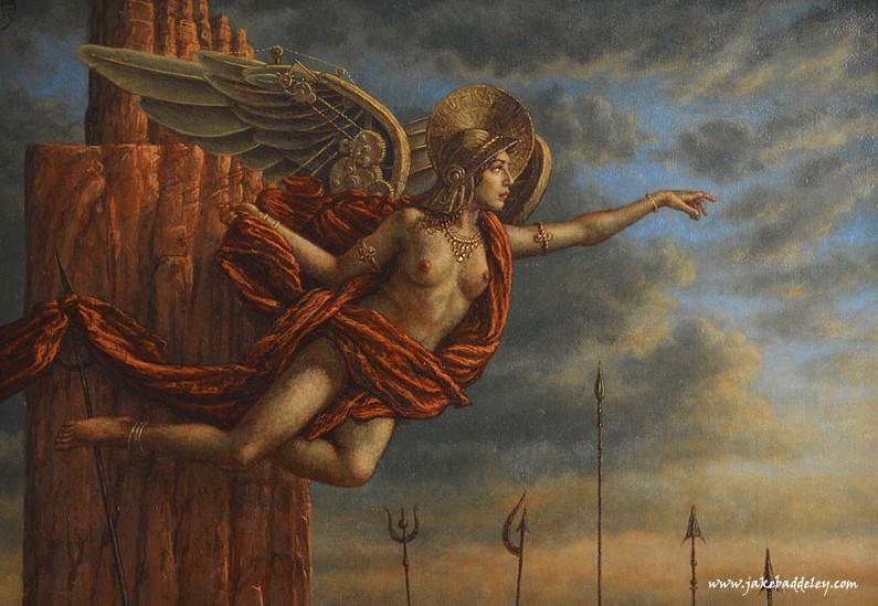 Temptation - oil paint on canvas - 70 x 50 cm - 2015 - SOLD