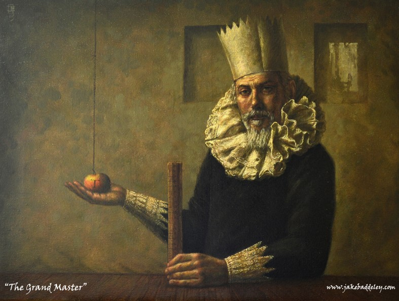The Grand Master - oil on canvas - 80 x 60 cm - 2015 - SOLD