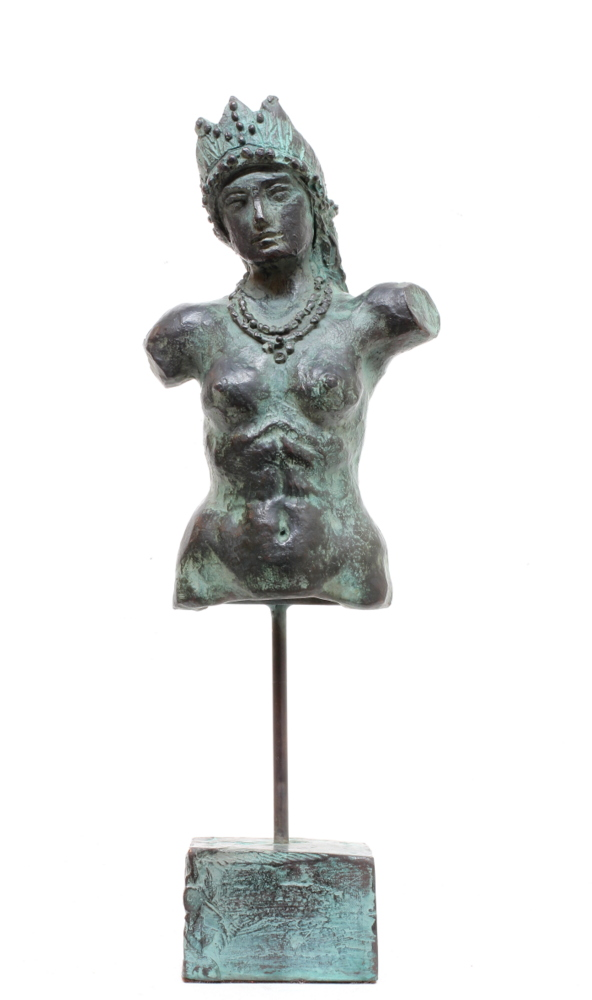 Jake Baddeley - Parvati - bronze sculpture - 36 cm - 2016 - edition of 12