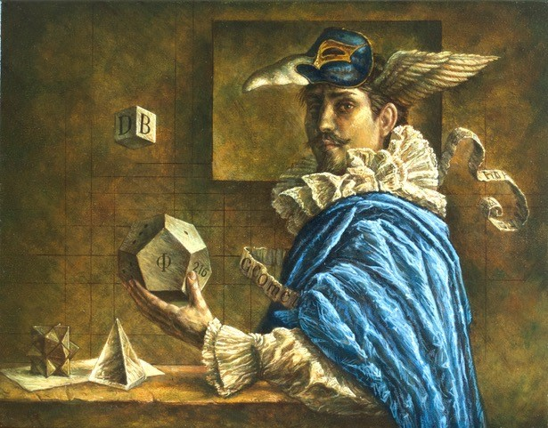 Jake Baddeley - Geometry 4 - oil on canvas - 50 x 70 cm - 2020 - commission