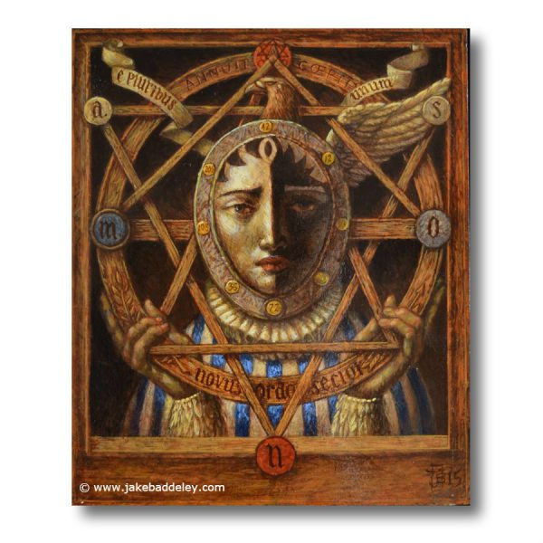 The Great Seal - oil paint on wood - 30 x 25 cm - 2015 - Request Availability
